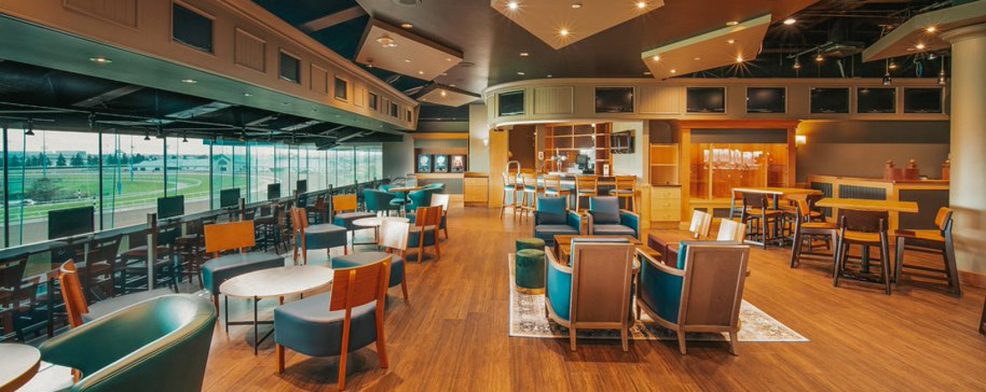 Woodbine unveils new exclusive Finish Line O&T Lounge for Owners and Trainers