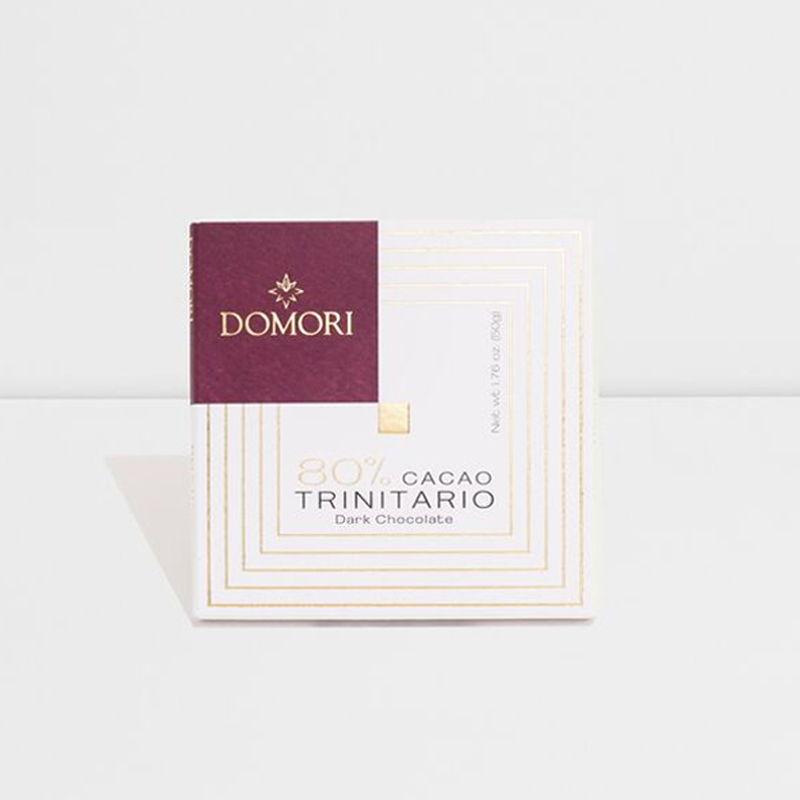 Domori Trinitario, Blend 80%