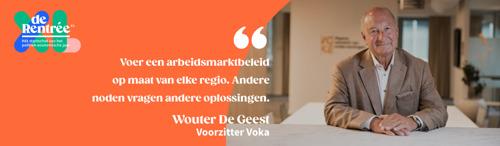 Voka vraagt dringend arbeidsmarkthervormingen