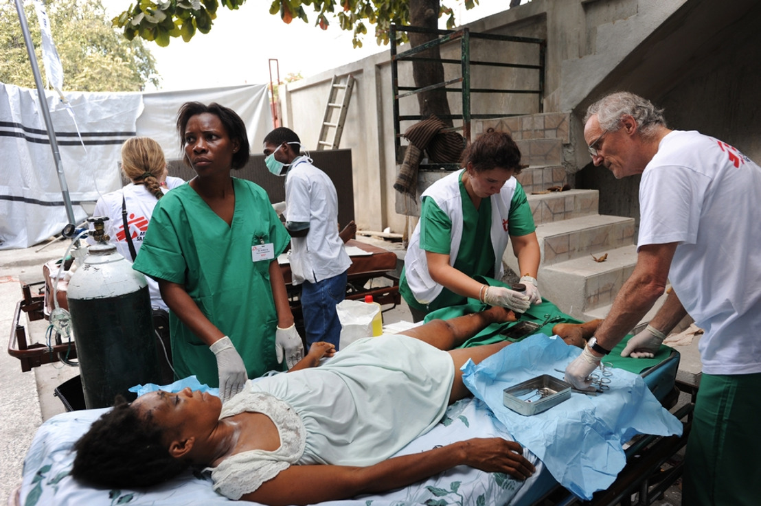 Ten years after earthquake Haiti health structures are on the brink of collapse
