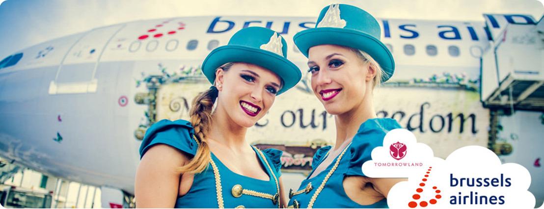 Brussels Airlines maakt zich klaar voor 108 Tomorrowland vluchten