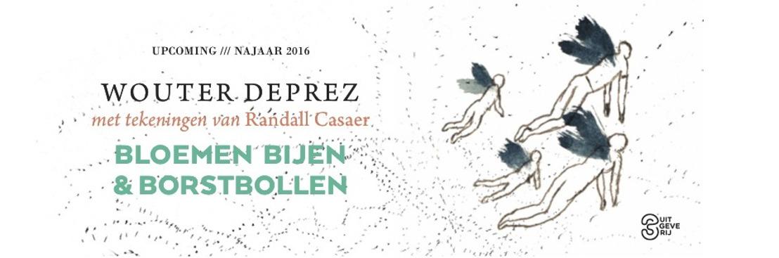Wouter Deprez beschrijft de poëzie van de vier seizoenen in zijn tuin en het leven in 'Bloemen, bijen en borstbollen'