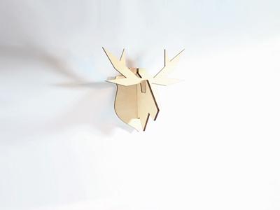 Atelier Pierre Nordic puzzel Hangende Eland Large €28,50