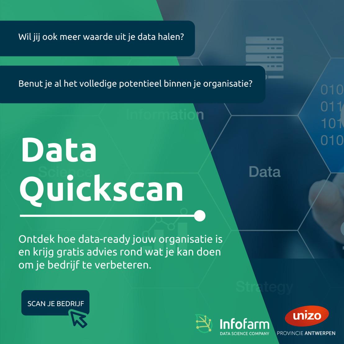Unizo Antwerpen en InfoFarm helpen KMOs op weg met AI en Machine Learning