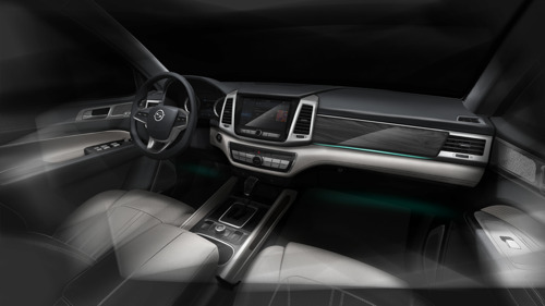 SsangYong Motor Unveils the G4 Rexton