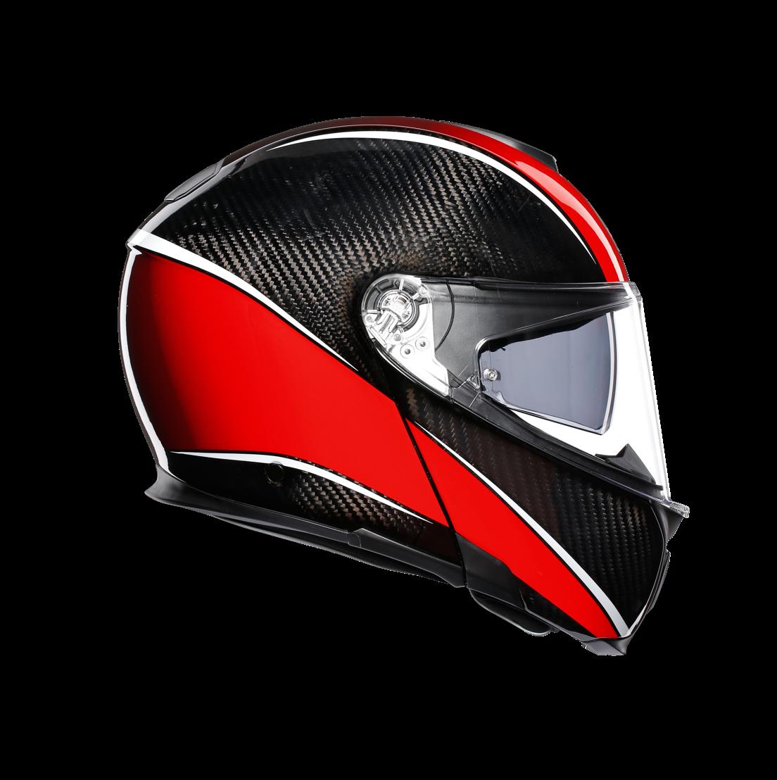 AGV SPORTMODULAR Aero Carbon/Red