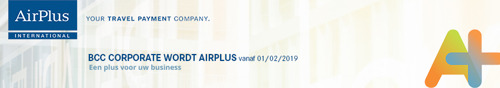 BCC Corporate wordt officieel AirPlus International