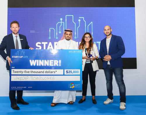 WAKECAP WINS THE START-UP CITY COMPETITION AT THE BIG 5