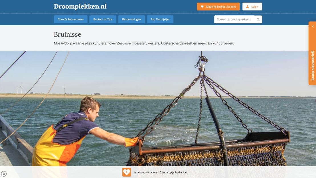 Droomplekken.nl kwam langs in Mosseldorp Bruinisse