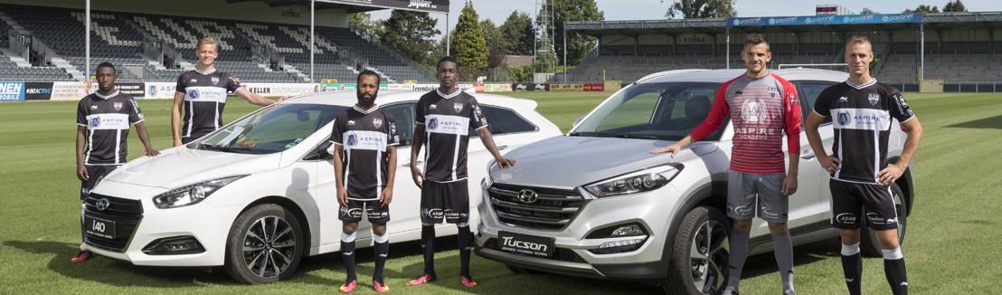 Hyundai wordt sponsor van KAS Eupen-elftal