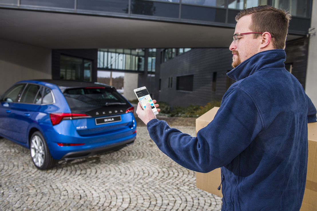 Your car as your delivery address: ŠKODA AUTO DigiLab starts pilot