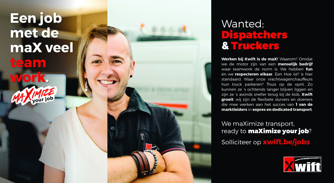 © Xwift  - Employer Branding Campagne - Teamwork