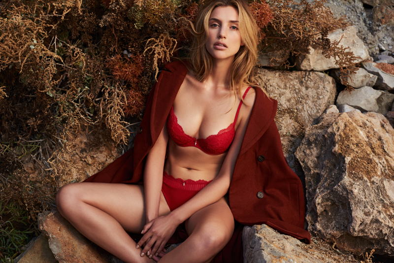 Sofia in Red