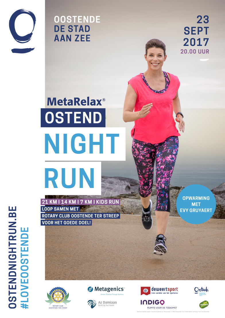 Ostend Night Run - Affiche