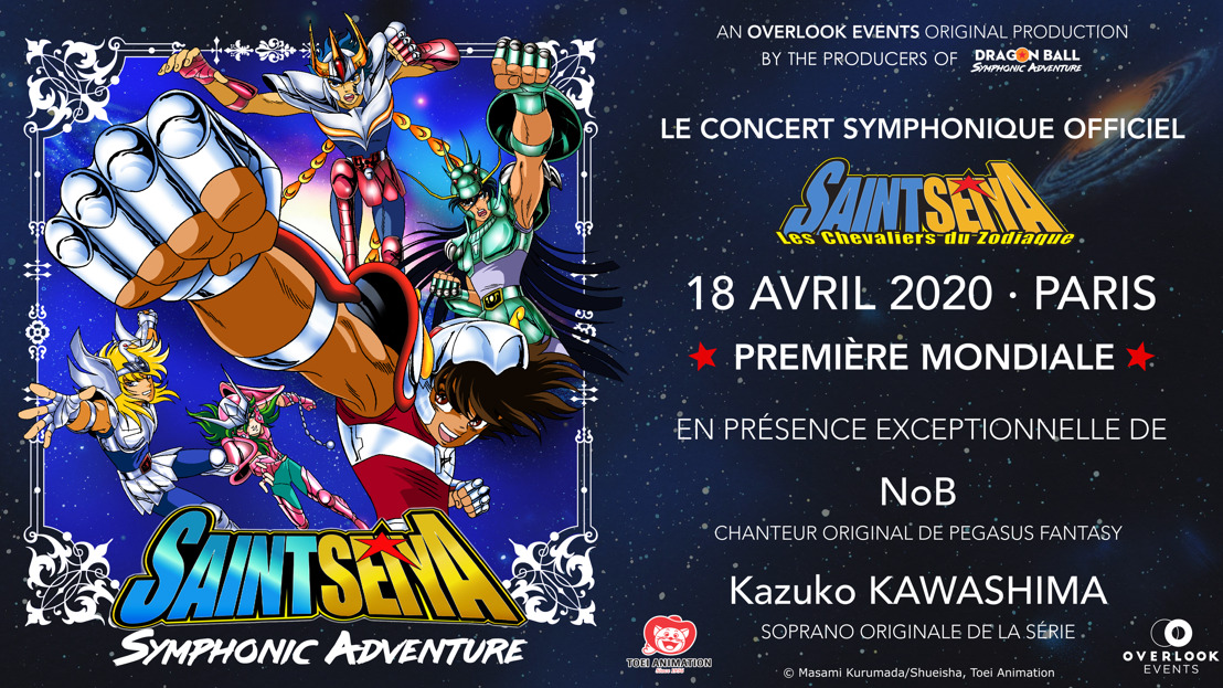 SAINT SEIYA SYMPHONIC ADVENTURE : le 18 avril au GRAND REX