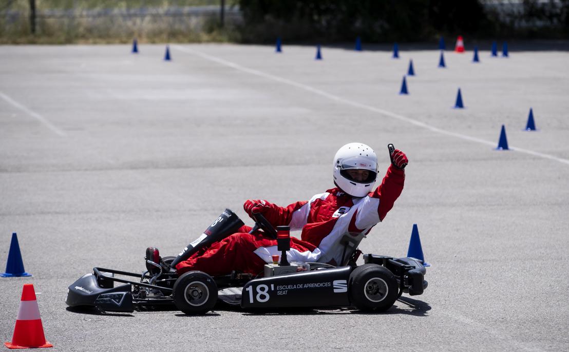 Une équipe d'étudiants de l'école de formation SEAT crée un kart électrique performant