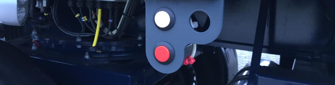 Nooteboom PowerUp Load-Sensing-Liftachse mit Hydraulikfederung