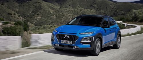 Nieuwe Hyundai Kona Hybrid