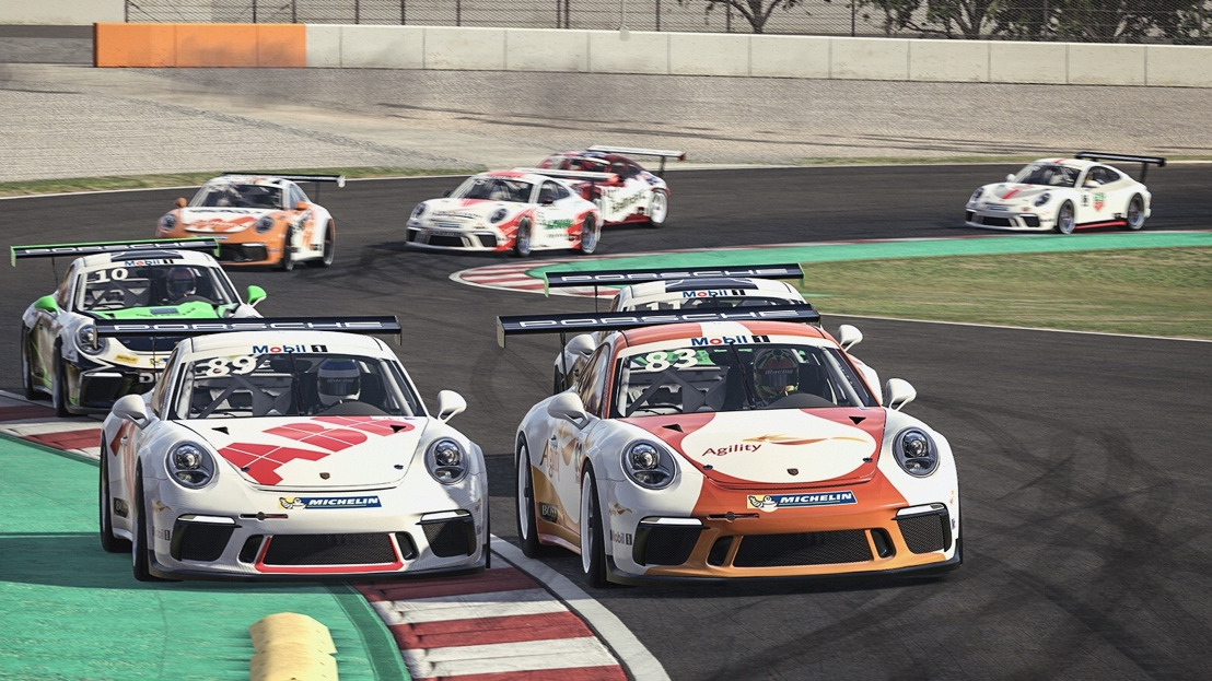 Porsche Mobil 1 Supercup Virtual Edition, 2nd race day, Silverstone/Great Britain
