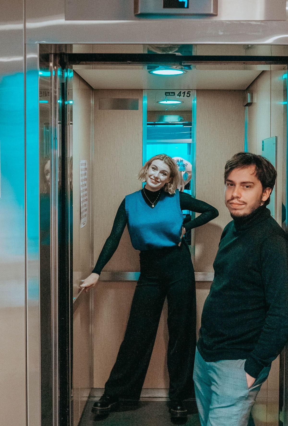 Gloria Monserez en Sander Vandenhende