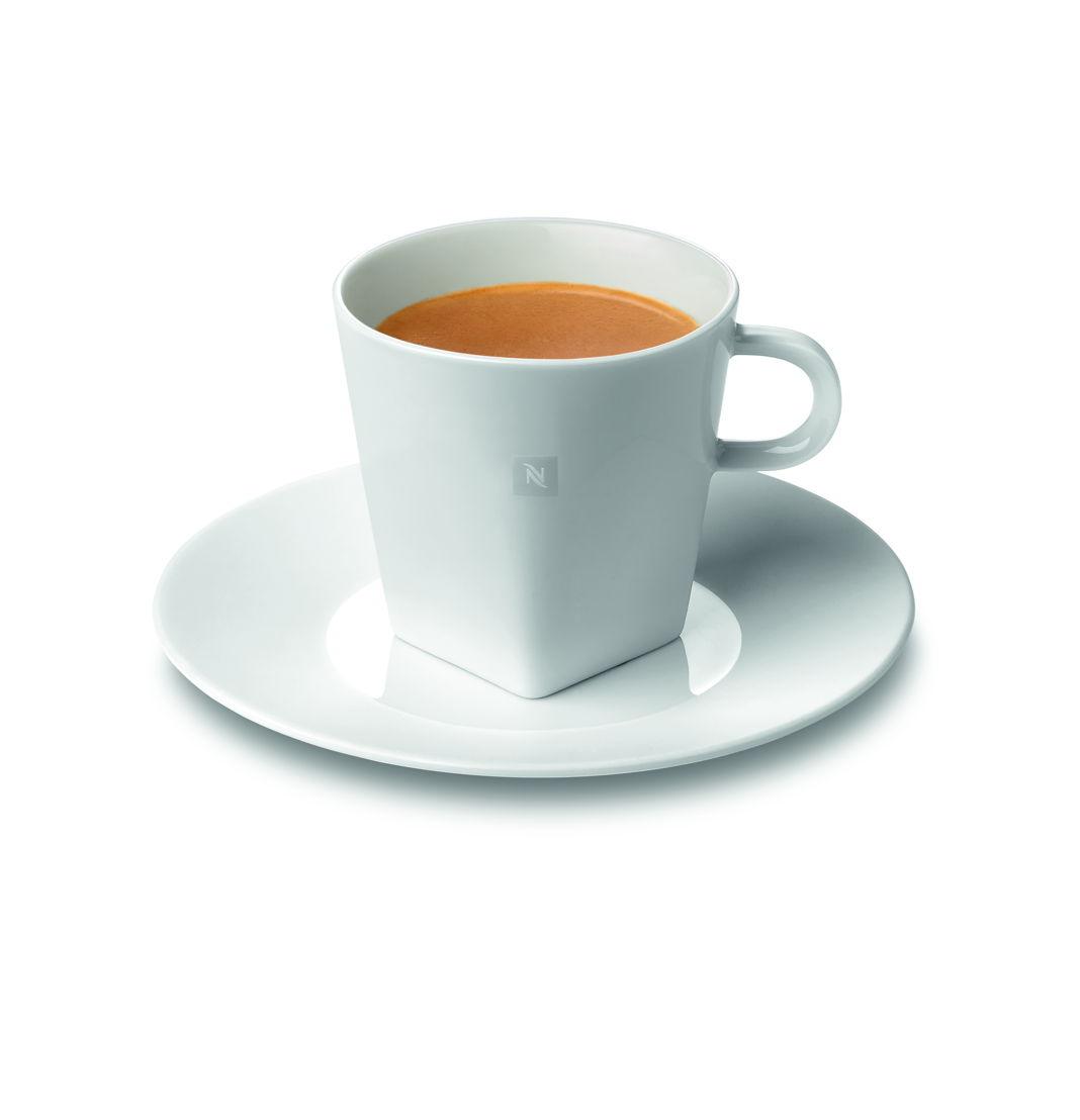 Nespresso - 2 tasses Lungo avec sous-tasses assorties (24 €)