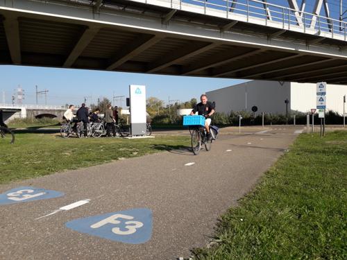 Europese fietssnelweg-experts ontdekken Vlaams-Brabantse fietssnelwegrealisaties