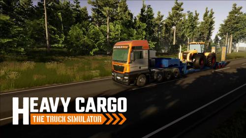 Aerosofts Line-Up zur gamescom 2021: Mit Heavy Cargo - The Truck Simulator