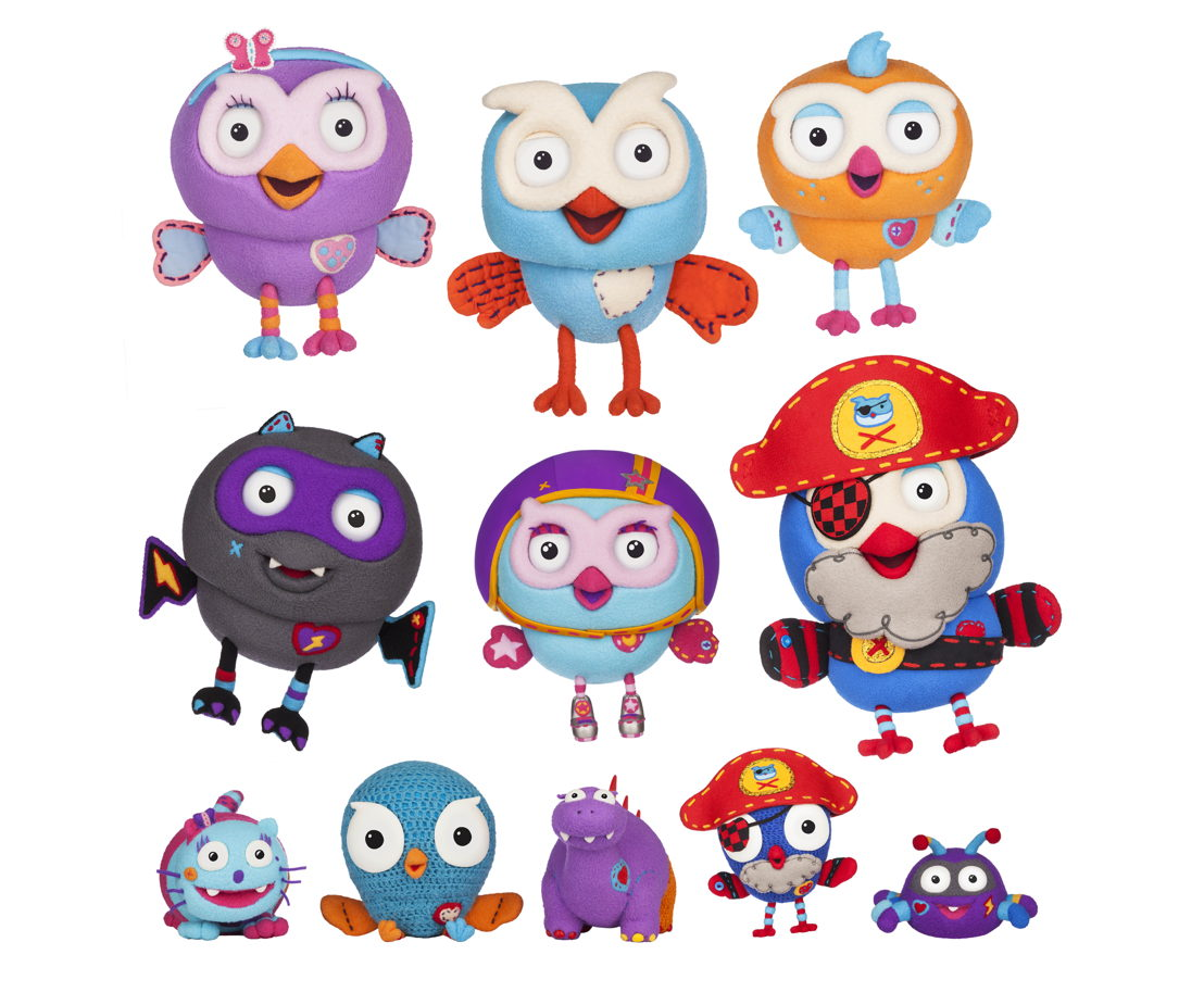 Hoot Hoot Go! characters