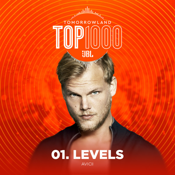 Preview: Avicii's Levels is the ultimate number 1 in the Tomorrowland Top 1000 for the second year in a row