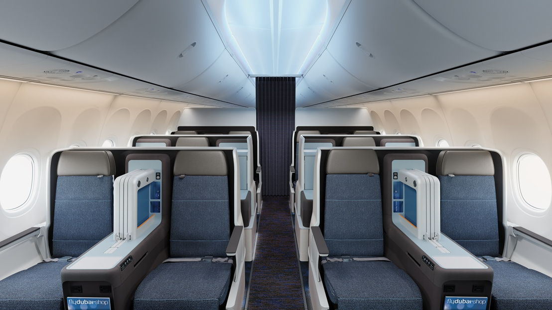 New Business Class Cabin Configuration