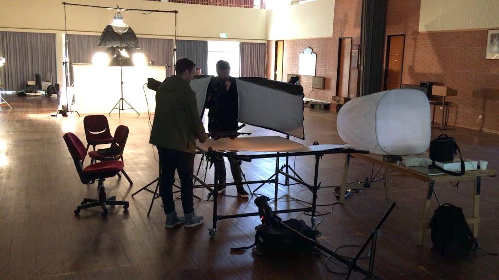 BTN behind the scenes