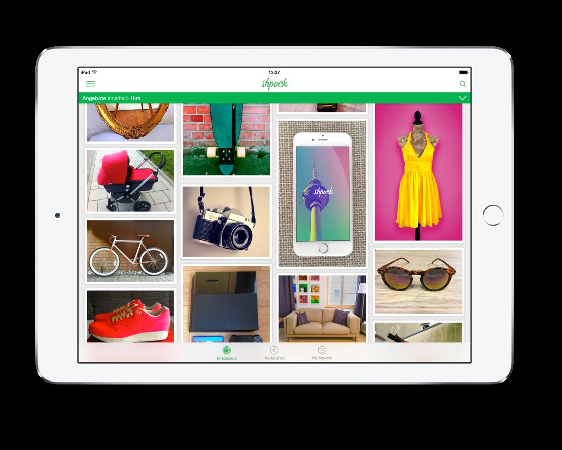 Shpock für iPad