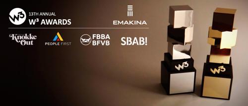 Emakina wins four W3 Awards