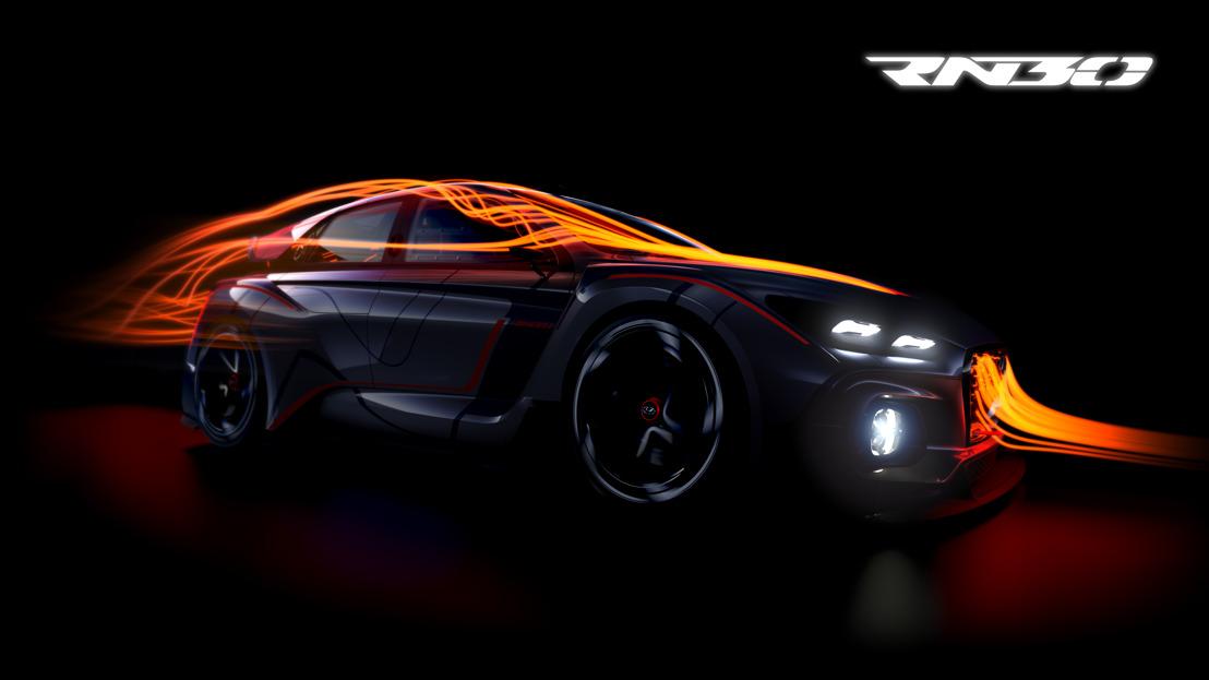 Il prototipo N ad alte prestazioni di Hyundai verrà svelato al Salone dell'auto di Parigi