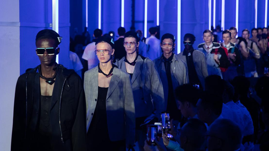 Prada presenta su colección primavera-verano 2020 para hombre en Shanghai: Optimist Rhythm