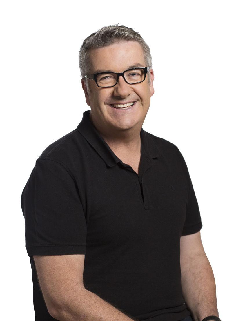 ABC Radio Perth presenter Geoff Hutchison