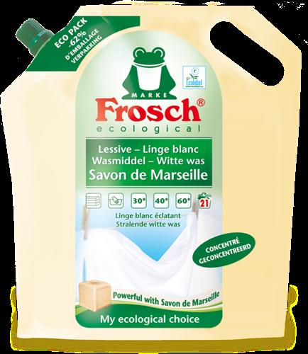 NIEUW in de afdeling wasproducten: Frosch Savon de Marseille