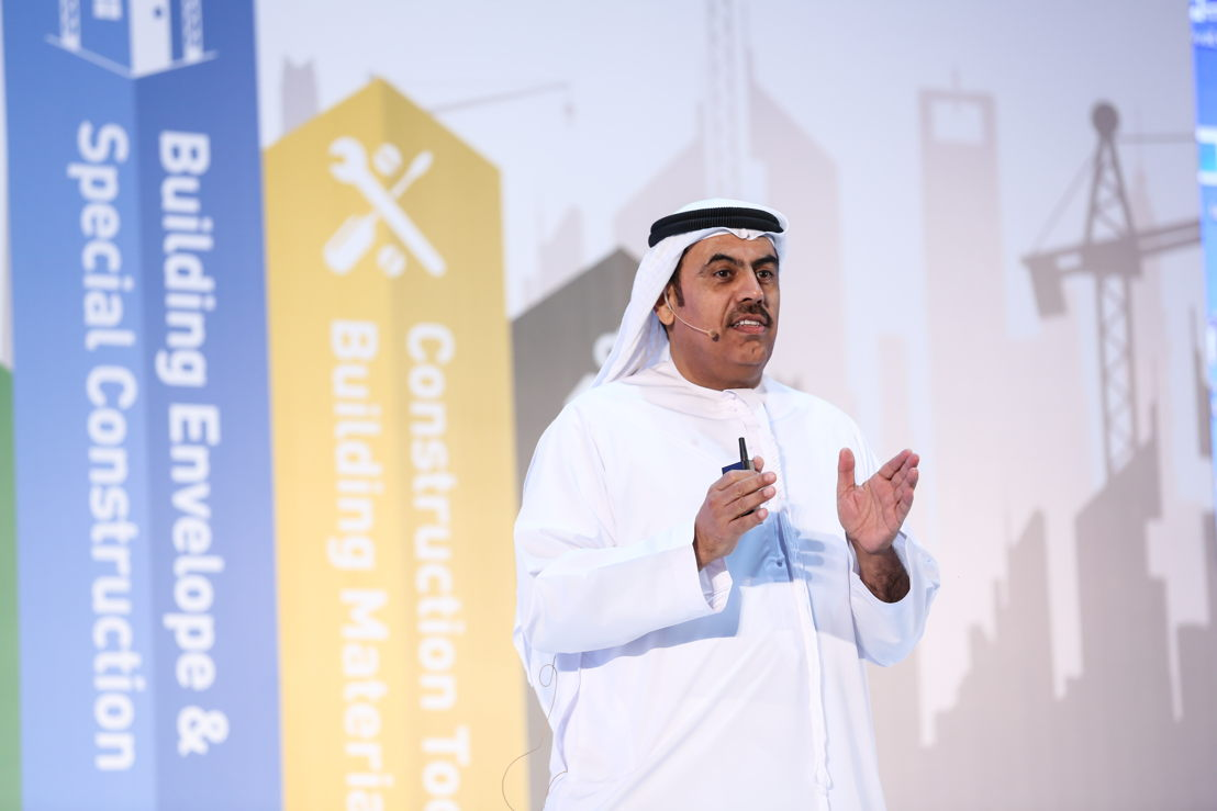 His Excellency Dr. Ahmad Bin Hassan Al Shaikh, Chairman of Ducab HV at the Excellence in Construction Summit