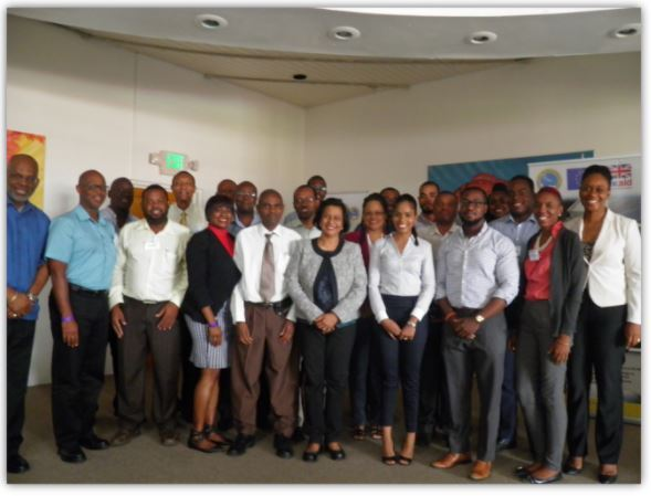 Delegates at the OECS Renewable Energy and Energy Efficiency Capacity Building Workshop