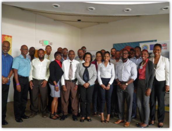 Delegates at the OECS Renewable Energy and Energy Efficiency Capacity Building Workshop