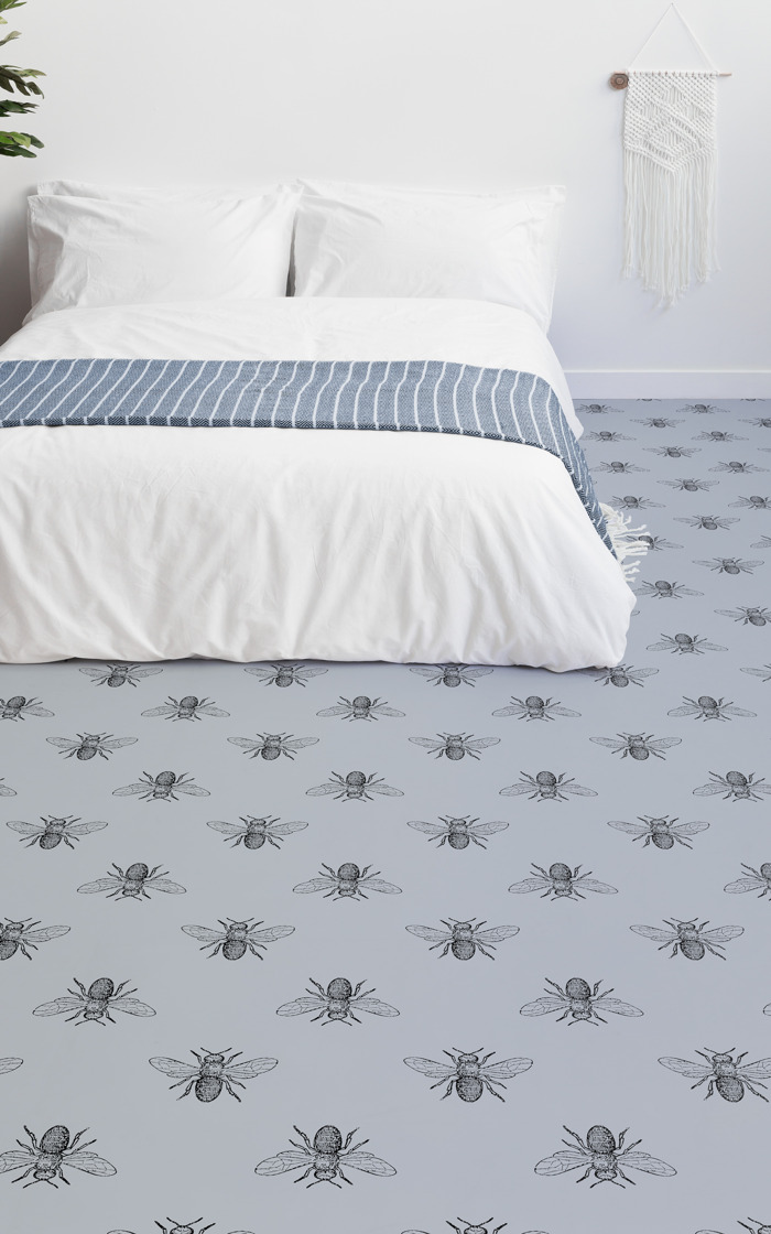 These floor designs will have you wanting to bring bugs into your home...