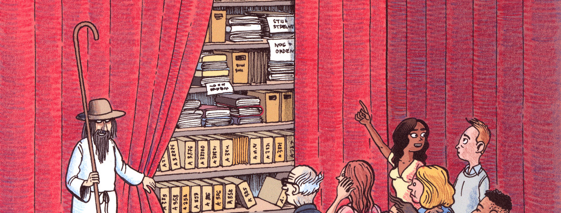 Letterenhuis presenteert derde editie Letterenhuisfestival: De kunst van het bewaren