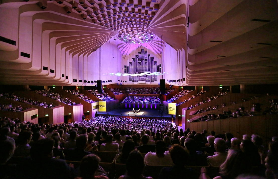 Keating event, Sydney Opera House concert hall (credit: Prudence Upton)