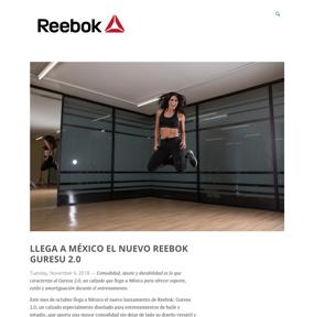 LLEGA A MÉXICO EL NUEVO REEBOK GURESU 2.0