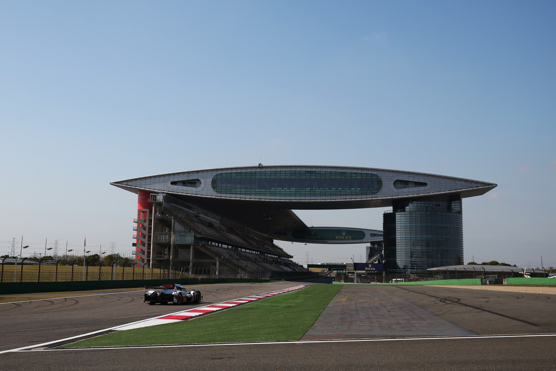 SHOWDOWN IN SHANGHAI WEC 4HRS FOR TOYOTA GAZOO RACING
