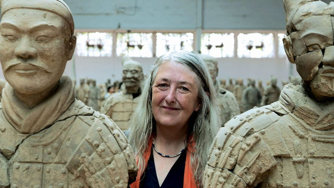 Civilisations - Mary Beard in Xian - (c) BBC