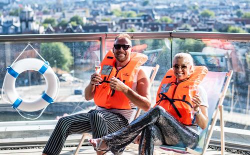 Amsterdams hotel lanceert luxe cruise-vakantie