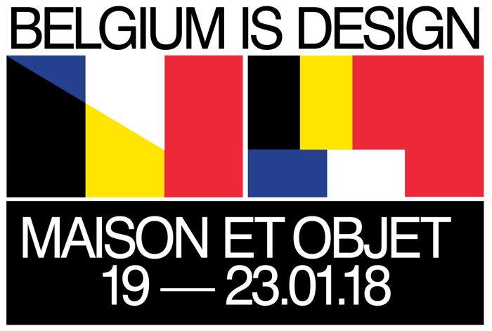 Preview: Belgium is Design - Maison & Objet - Paris 2018