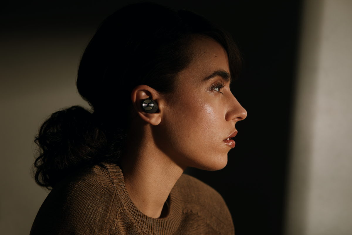 Get your creative juices flowing with a pair of noise-cancelling earbuds like Sennheiser