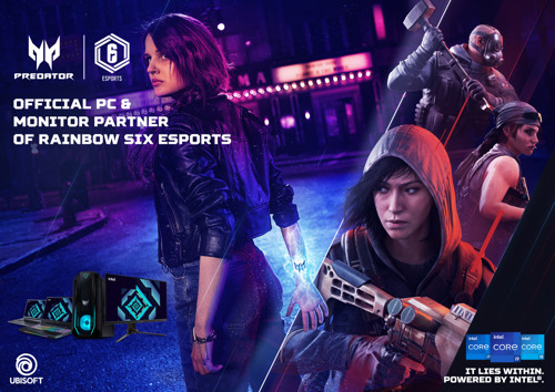 Ubisoft and Acer Renew Their Partnership for Tom Clancy's Rainbow Six Esports Global Circuit